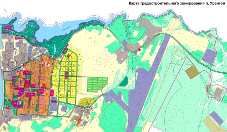 Карта град зонирования НС