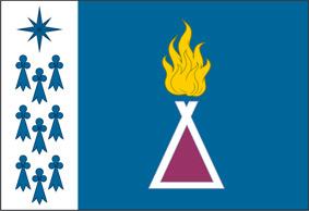 Флаг муниципального образования поселок Уренгой